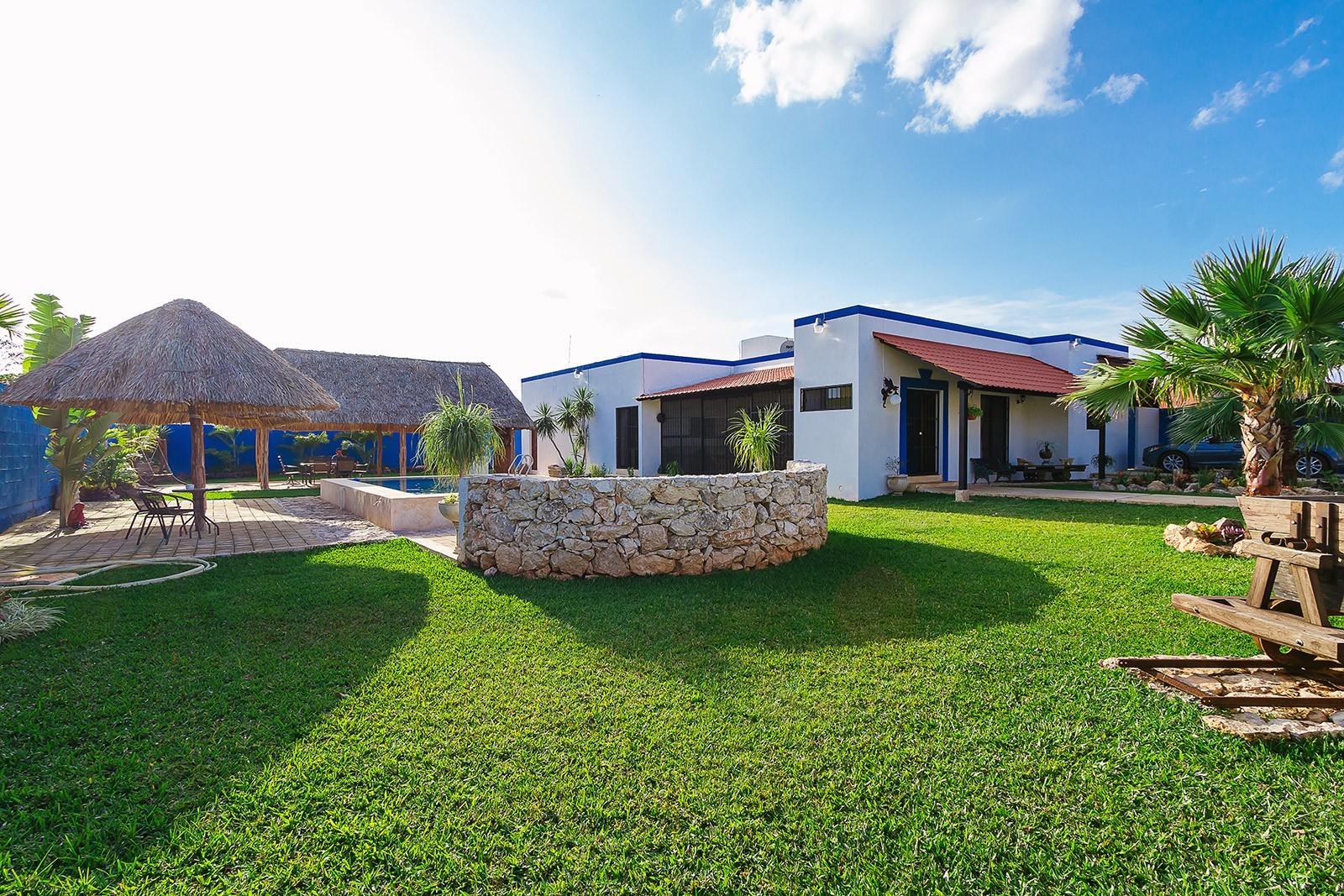 Casas en m rida casa b residencial baspul for Modelo de casa quinta en paraguay