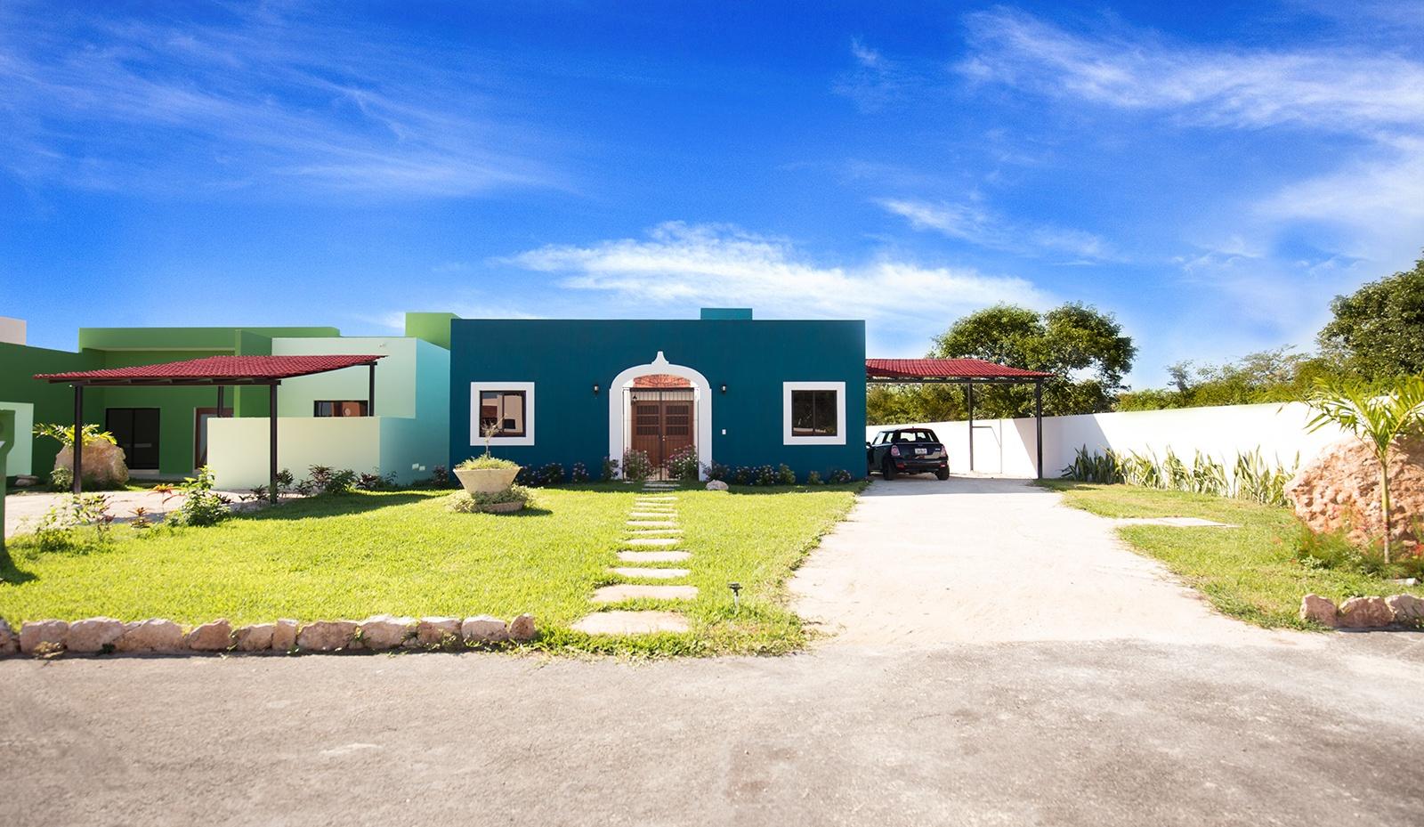 Casas en m rida residencial baspul for Modelo de casa quinta en paraguay